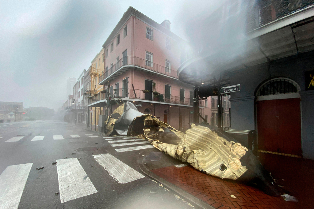 "Hurricane Ida in the US""In"