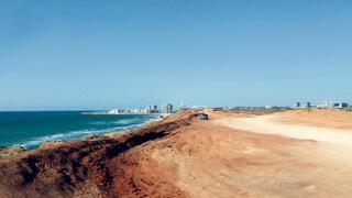 שטח תוכנית חוף התכלת בהרצליה
