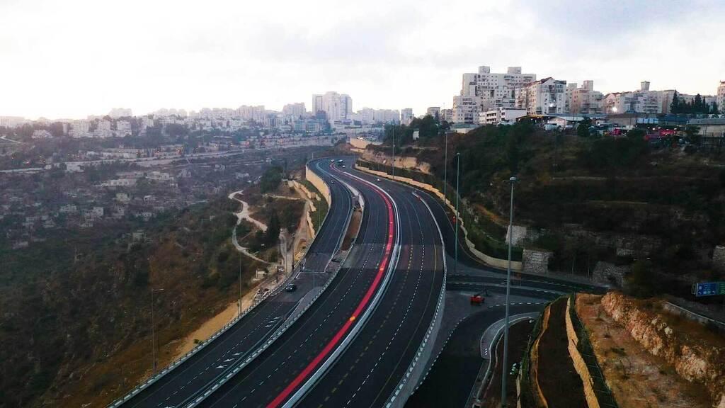 מחלף הכניסה ל ירושלים נחנך גינות סחרוב