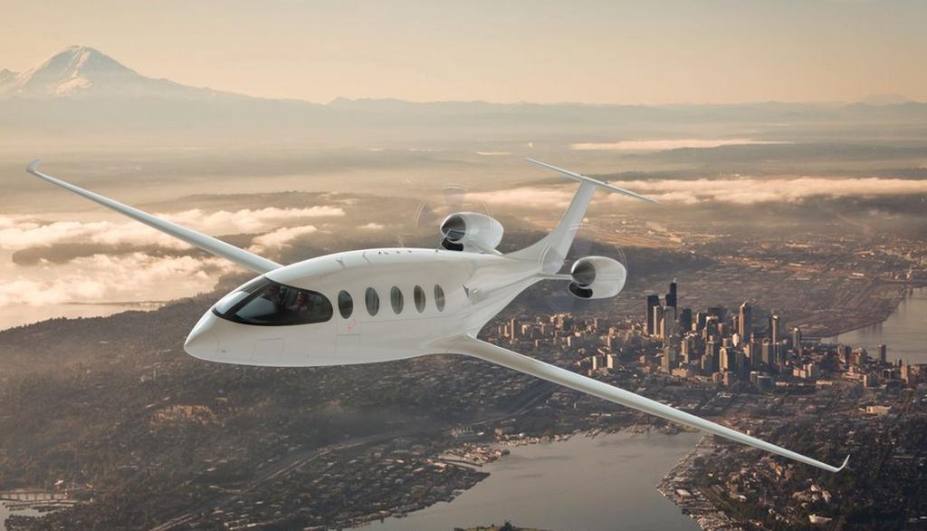 הקברניט מטוס חשמלי תעופה נוסעים