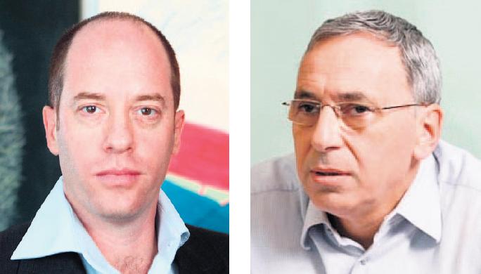 """מימין: מנהל קרן טנא אריאל הלפרין ומנכ""""ל גדות עופר לינצ'בסקי"""