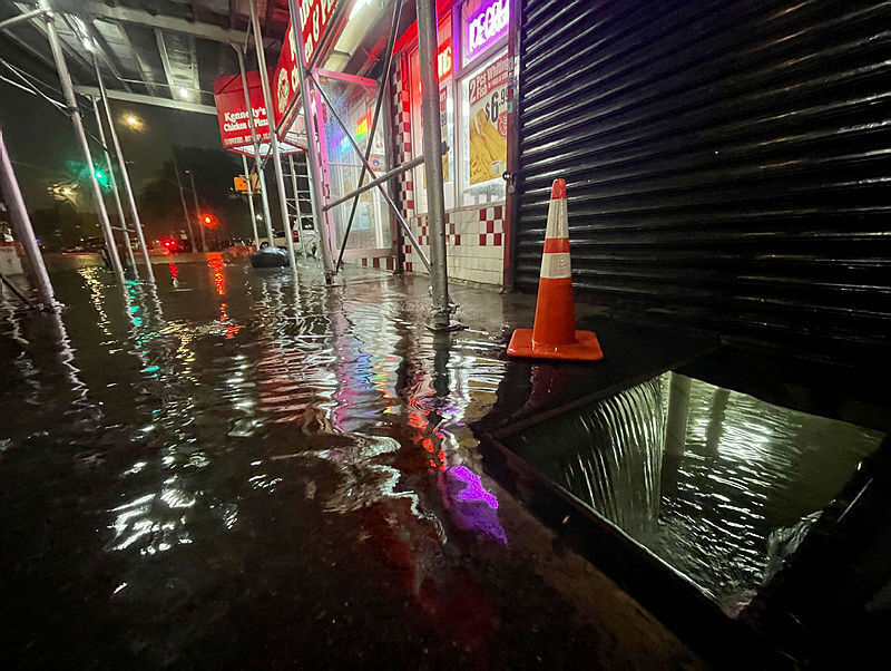 New York Rain Flooding