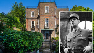 למכירה הבית של שארל דה גול לונדון