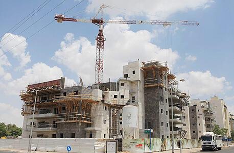 """אתר בנייה. """"נושא הדיור לא מושך את חברי הכנסת והשרים"""", צילום: אוראל כהן"""