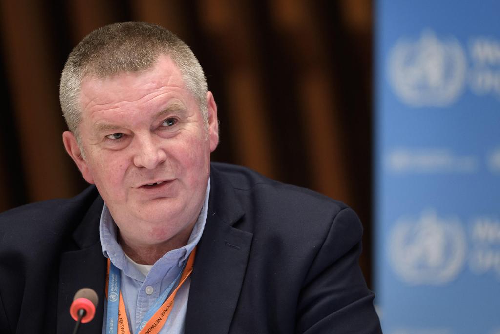 מייק ראיין בכיר ב ארגון הבריאות העולמי WHO