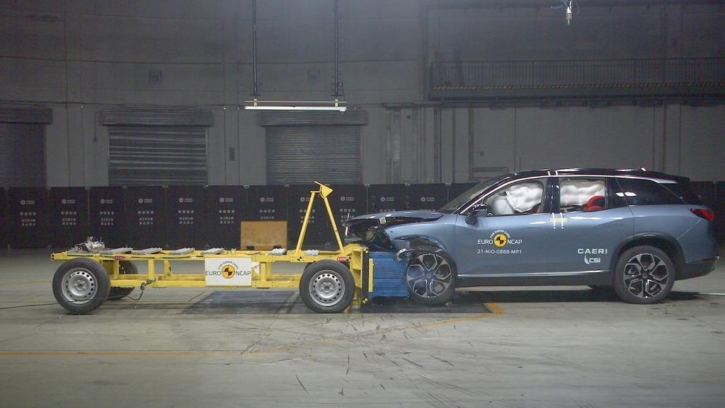 מבחני ריסוק חדשים: כמה כוכבים קיבלה מכונית הניסוי של מובילאיי?