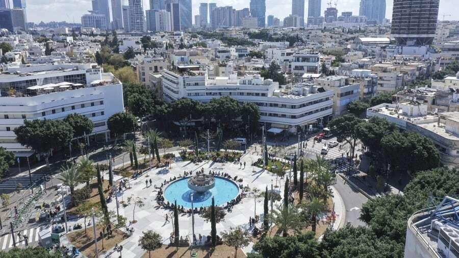 תל אביב כיכר דיזנגוף