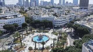 תל אביב כיכר דיזנגוף, צילום: בלומברג