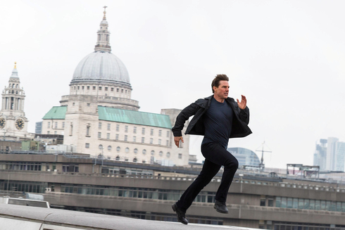 """טום קרוז. הספרינט שלו ב""""משימה בלתי אפשרית"""" נראה כלא יותר מטיול בפארק בהשוואה לריצה של גורדייבסקי, צילום: AFP"""