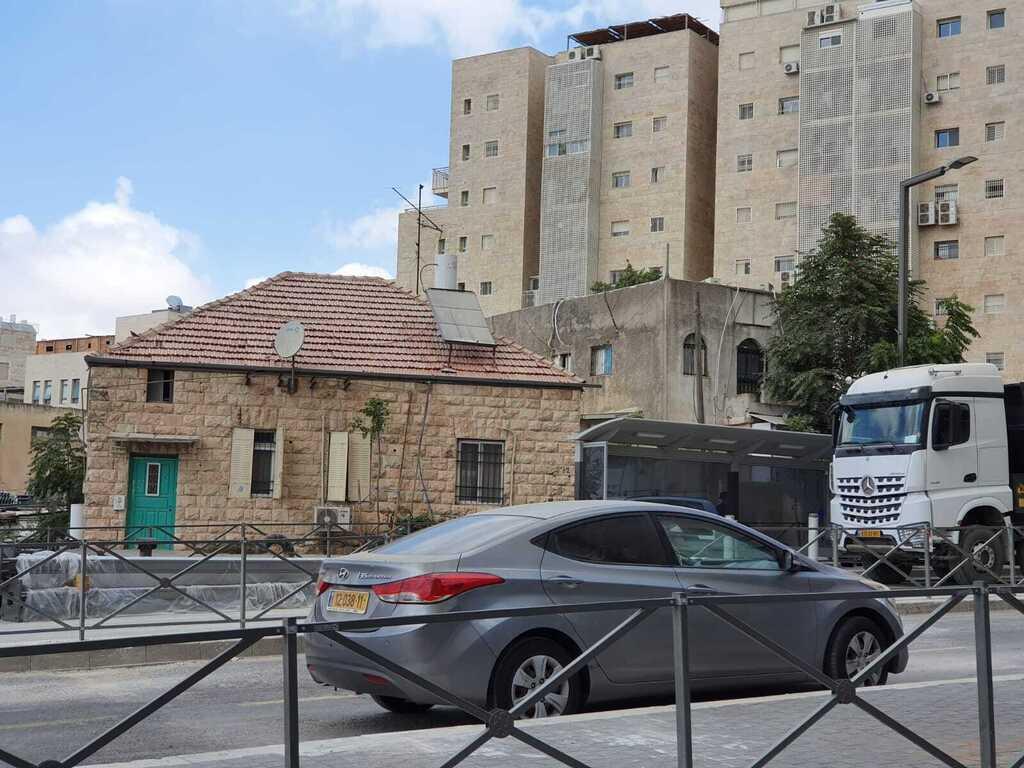 מגרש רחוב ירמיהו 72 ב כניסה ל ירושלים