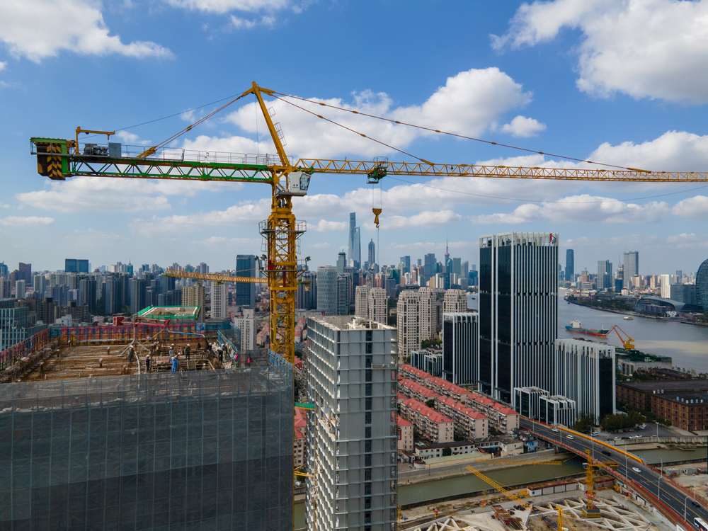 בנייה למגורים סין שנחאי