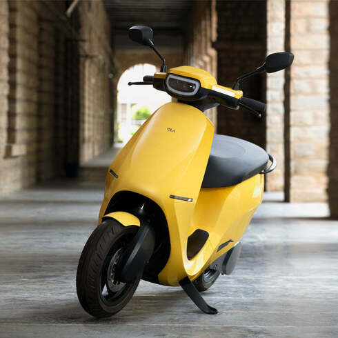קטנוע הודי תוצרת OLA SCOOTER , יצרן
