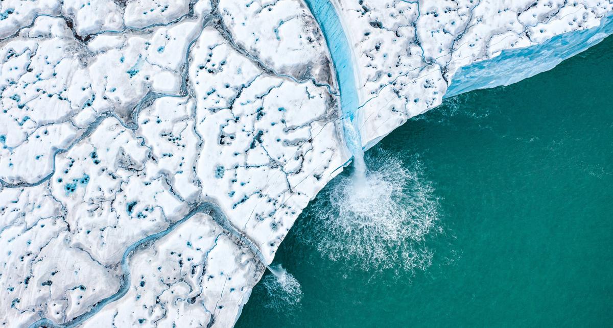פוטו תחרות צילומים מדאונים 2021 קרחון נמס