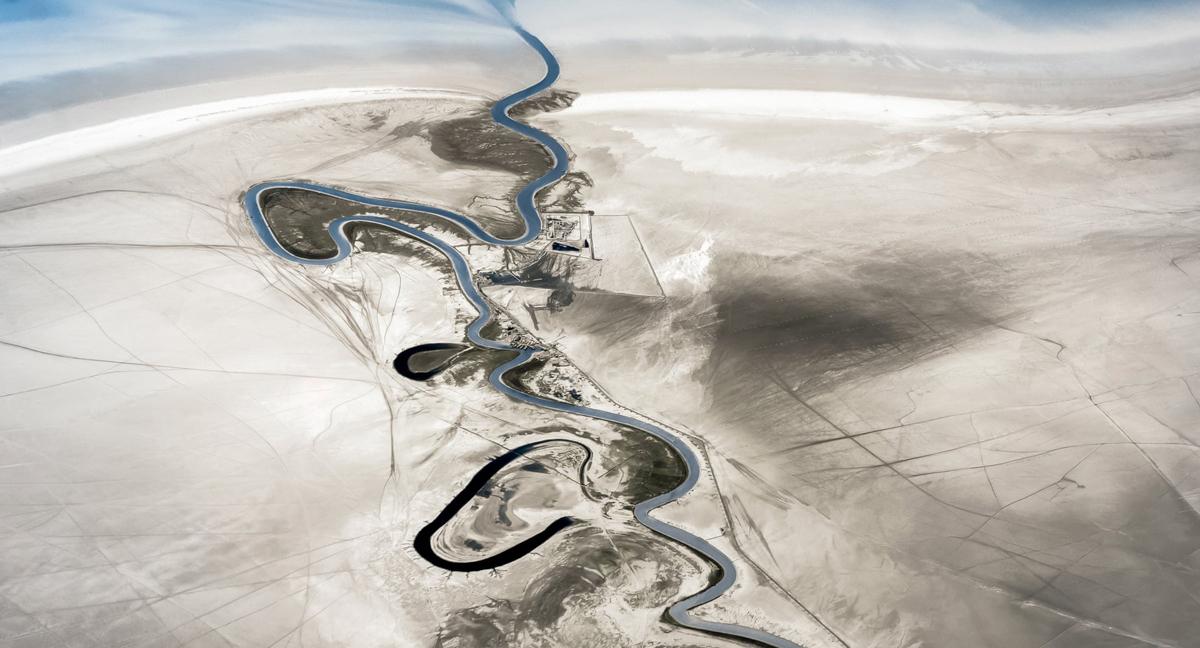 פוטו תחרות צילומים מדאונים 2021 איראן נהר זהורן