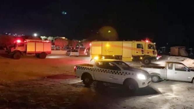 זירה זירת התרסקות מטוס קל ססנה 182 התרסק שני הרוגים ישראלים אי סאמוס יוון