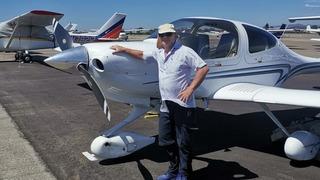 חיים גרון הרוג תאונה תאונת מטוס קל התרסקות אי סאמוס יוון