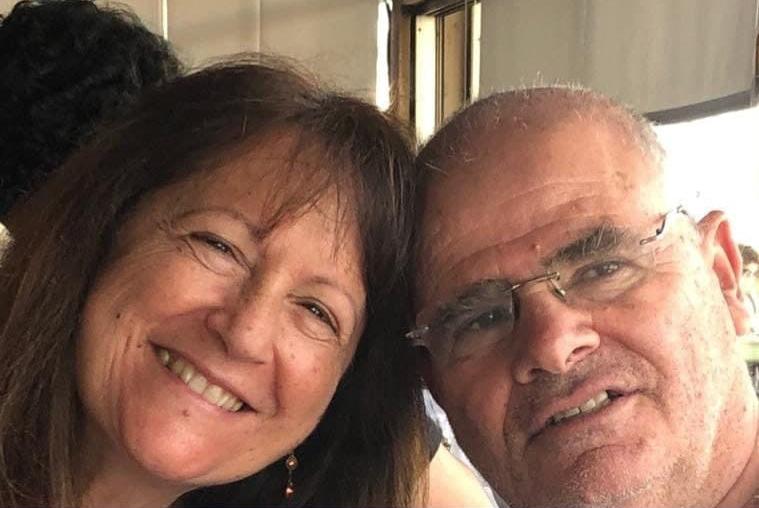 חיים גרון ו אסתי גרון הרוגים נהרגו תאונה תאונת מטוס קל התרסקות אי סאמוס יוון