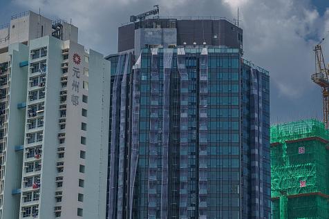 """פרויקט של חברת הנדל""""ן הסינית אוורגרנד בהונג קונג"""