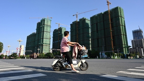 "פרויקט של חברת הנדל""ן הסינית אוורגרנד בעיר ז'ומדיאן ב סין, גטי אימג'ס"