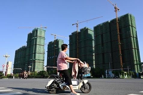 """פרויקט של חברת הנדל""""ן הסינית אוורגרנד בעיר ז'ומדיאן ב סין"""