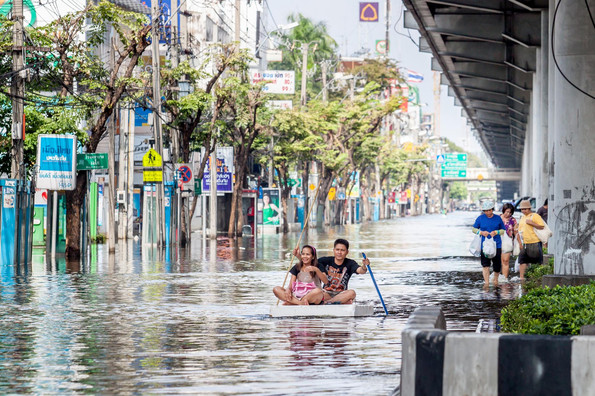 פוטו ערים שוקעות בנגקוק