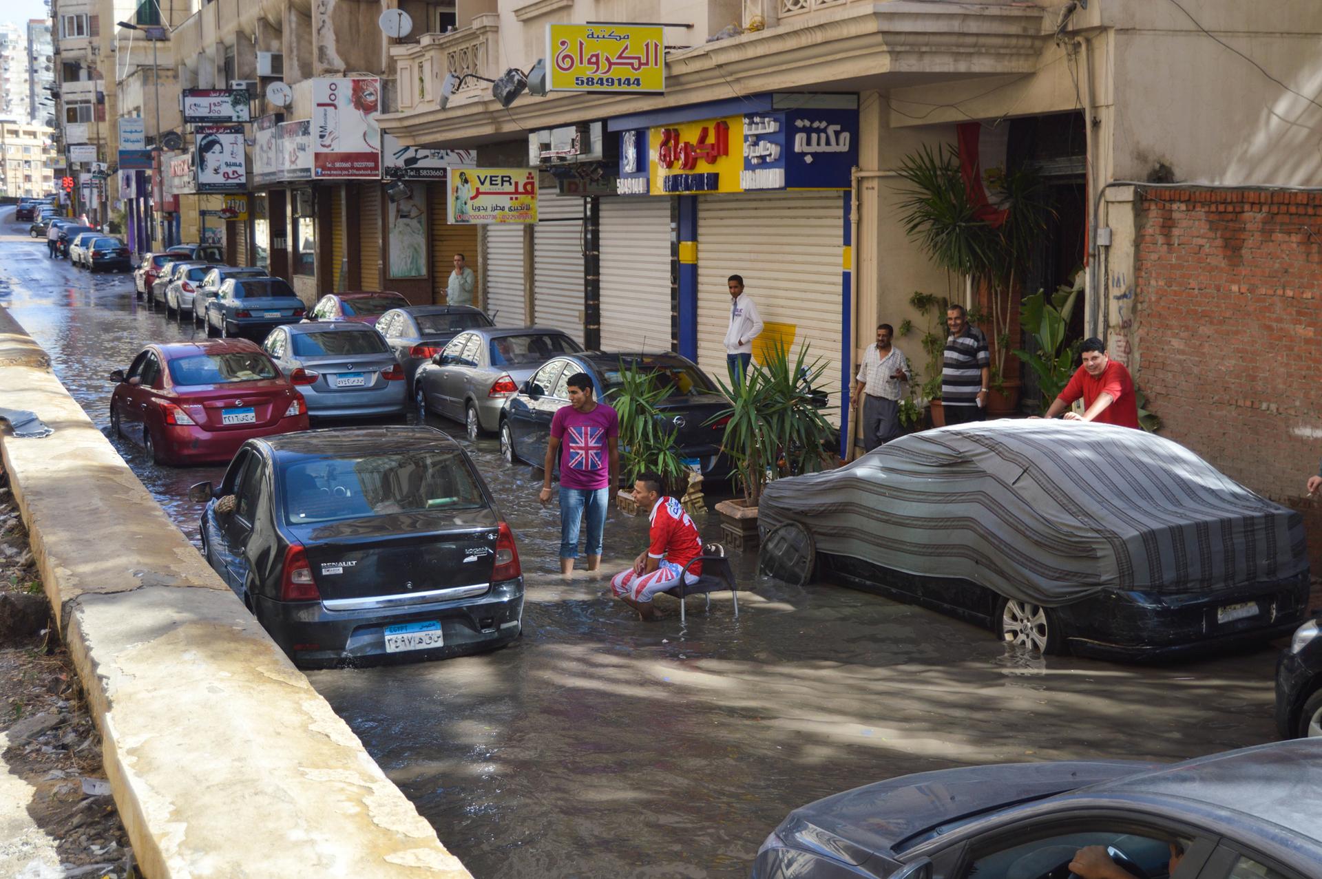 פוטו ערים שוקעות אלכסנדריה מצרים