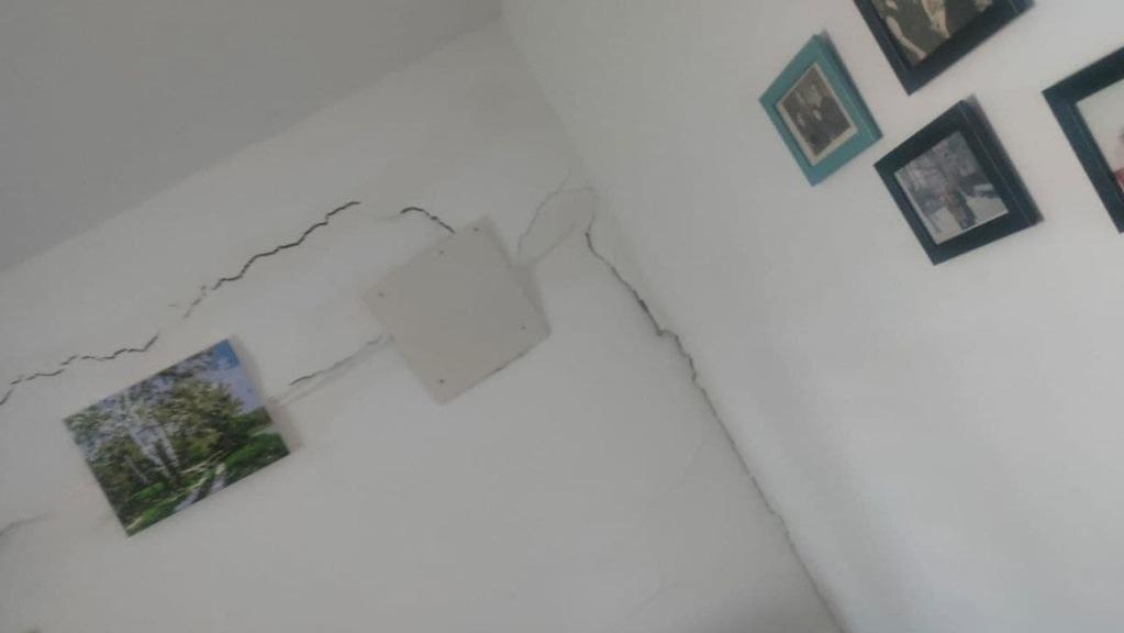 בניין שפונה ב קריית אליעזר ב חיפה בשל חשש לקריסה