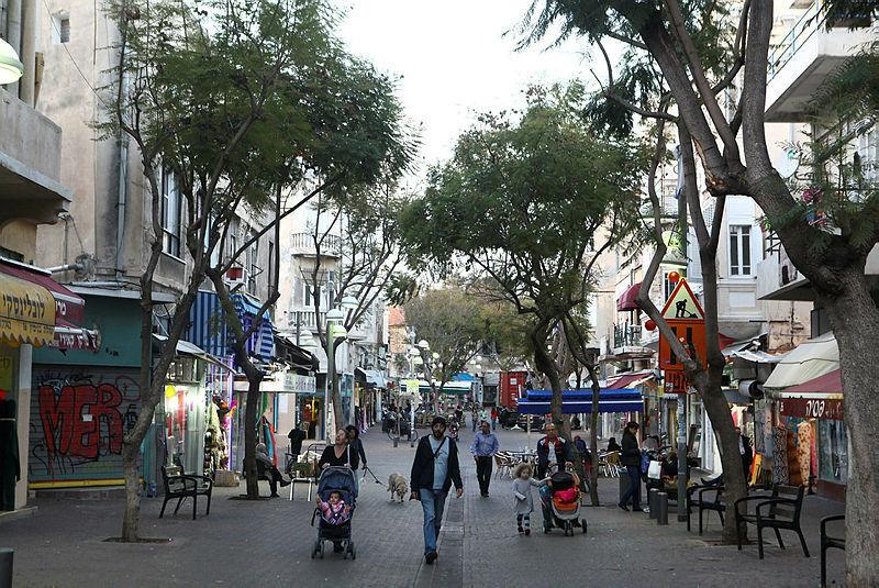 רחוב נחלת בנימין תל אביב