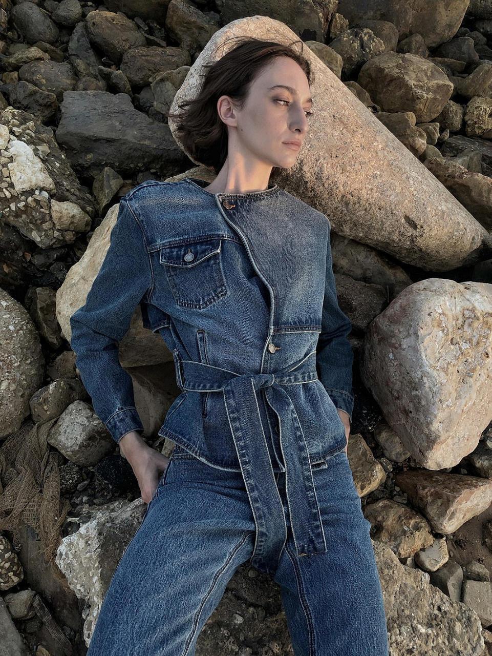 פנאי ג'ינס של משכית