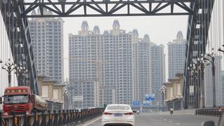 פרויקט בנייה של אוורגרנד Evergrande בעיר Luoyang