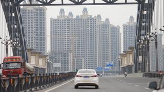 פרויקט בנייה של אוורגרנד Evergrande בעיר Luoyang, צילום:  רויטרס
