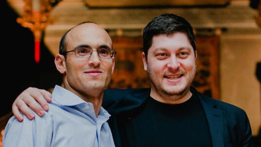 מימין: מיכאל רייטבלט ו לירון דמרי מייסדי פורטר, צילום: אבי ראול