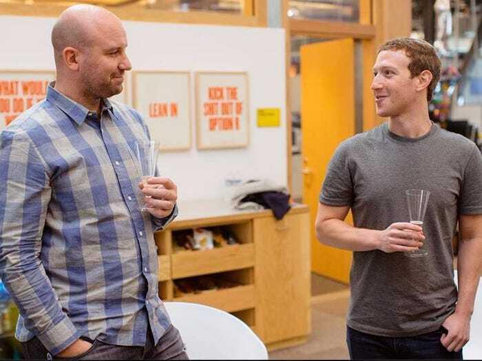 """מרק צוקרברג אנדרו """"בוז"""" בוזוורת' סמנכ""""ל טכנולוגיות פייסבוק"""