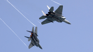 מטוס קרב מטוסי קרב F-15 חיל האוויר, צילום: AFP