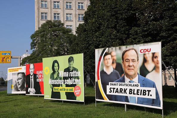 בחירות ב גרמניה שלטי תעמולת הבחירות בגרמניה