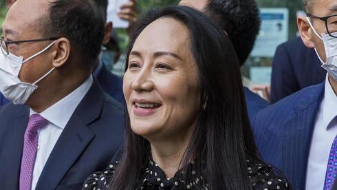 """אחרי שלוש שנים: סמנכ""""לית הכספים של וואווי שוחררה מהמעצר בקנדה - וחזרה לסין"""