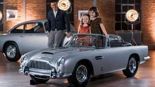 אסטון מרטין DB5 לילדים ג'יימס בונד 1, צילום: Aston Martin