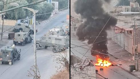 הותר לפרסום: לוחם וקצין נפצעו קשה בחילופי האש באזור ג'נין