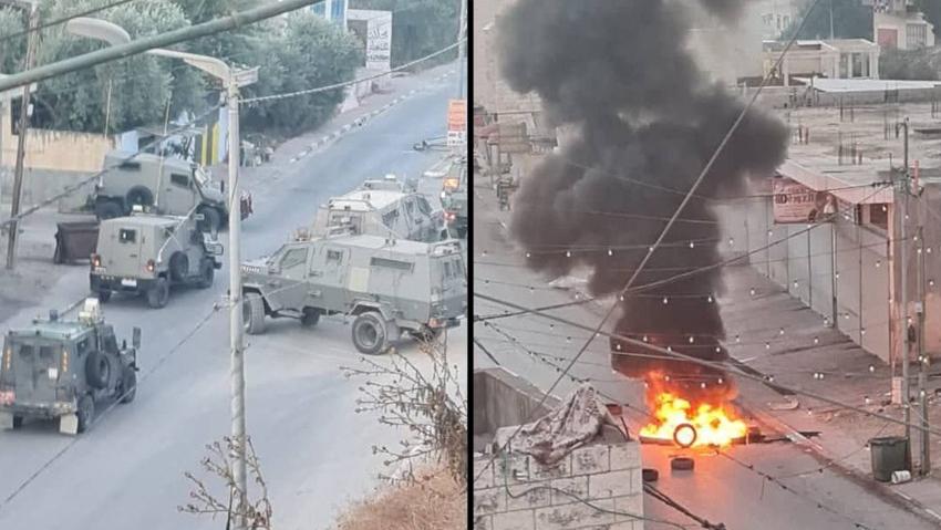 תיעוד מזירת חילופי האש בכפר הפלסטיני ברוקין   26.9.21