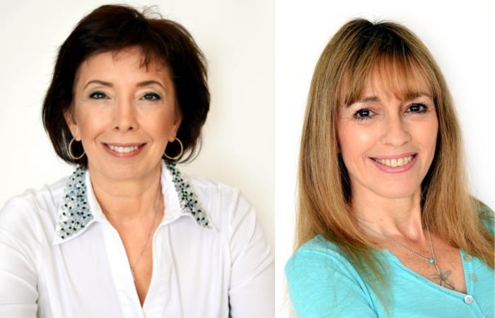 ימין: רונית בליט. שמאל: טליה גרינברג