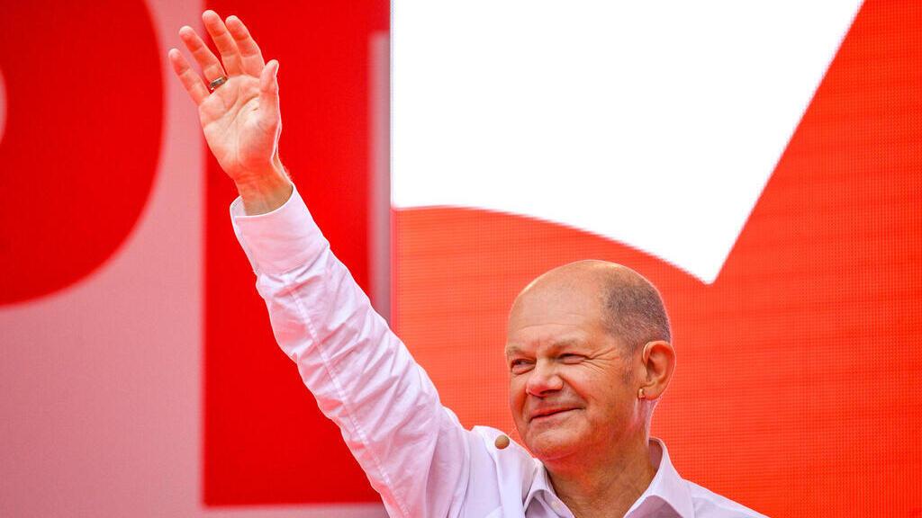 אולף שולץ מפלגת ה-SPD בגרמניה