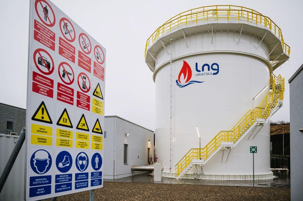 גז טבעי נוזלי LNG קרואטיה