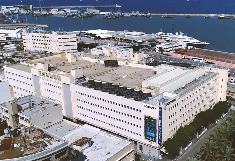 בניין פורטאון בחיפה. מענה מקיף לצרכים המגוונים של השוכרים