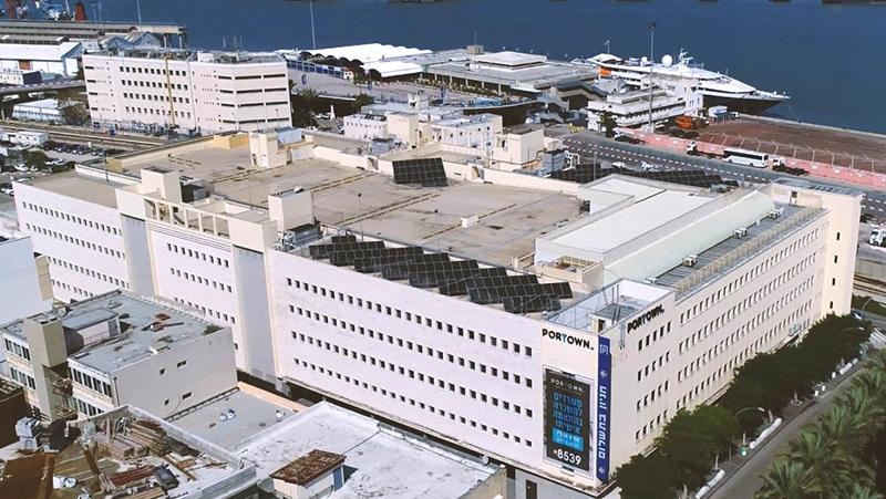 בניין פורטאון בחיפה. מענה מקיף לצרכים המגוונים של השוכרים , צילום: מישורים