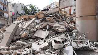 הבניין שקרס בחולון. סכנה מוחשית למאות אלפי הדיירים המתגוררים בבניינים ישנים