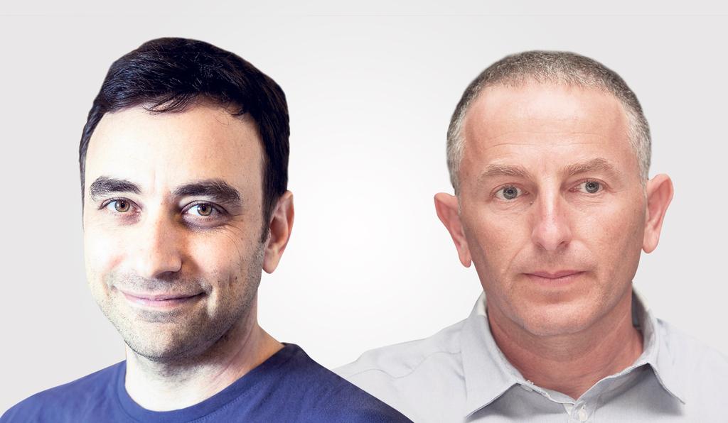 מימין צחי סולטן ו אריק צ'רניאק