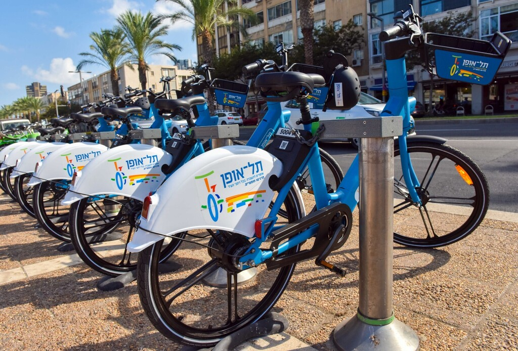 תל אופן אופניים חשמליים תל אביב