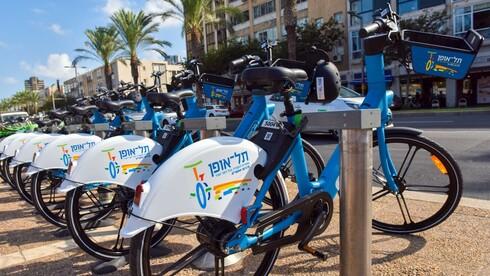 מערך תל אופן השתדרג באופניים חשמליים