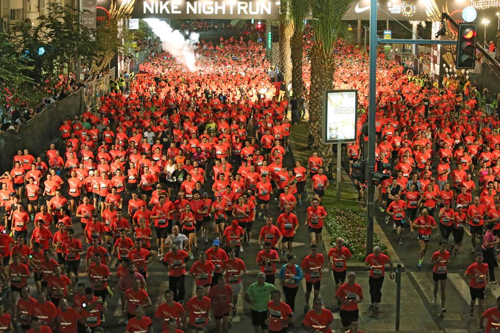פנאי מרוץ הלילה של תל אביב
