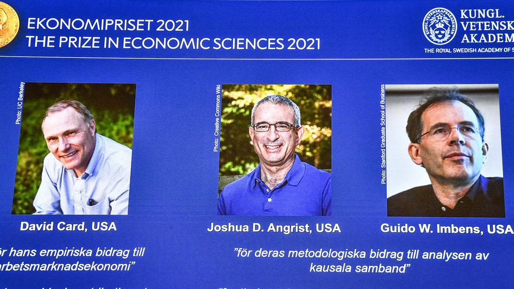 זוכי פרס נובל כלכלה 2021